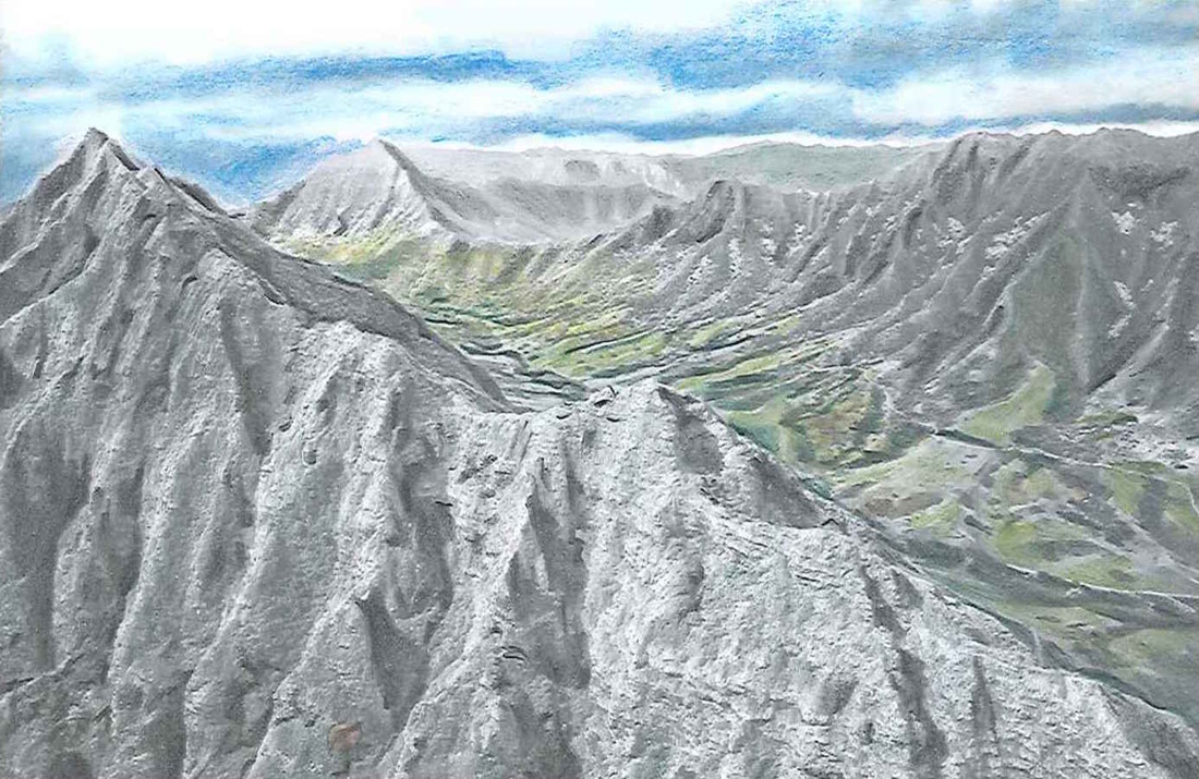 Mountain Ridge coloring #6, Download drawings