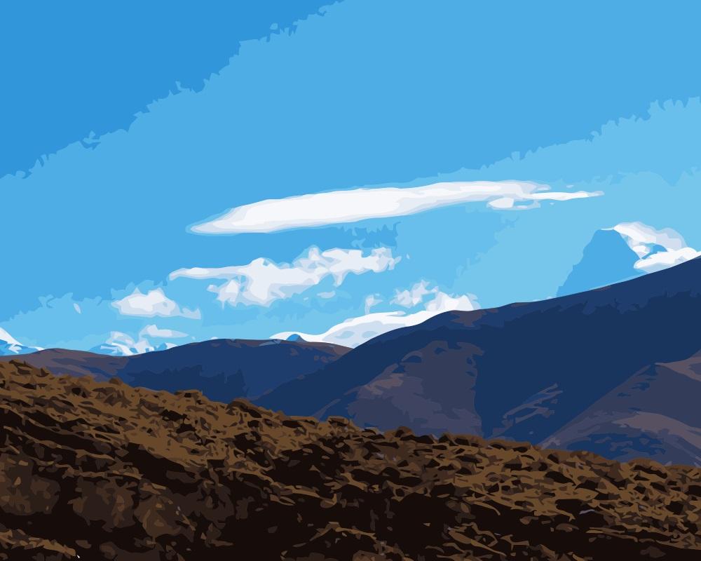 Mountain Ridge coloring #5, Download drawings