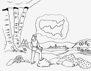 Mountain Ridge coloring #17, Download drawings