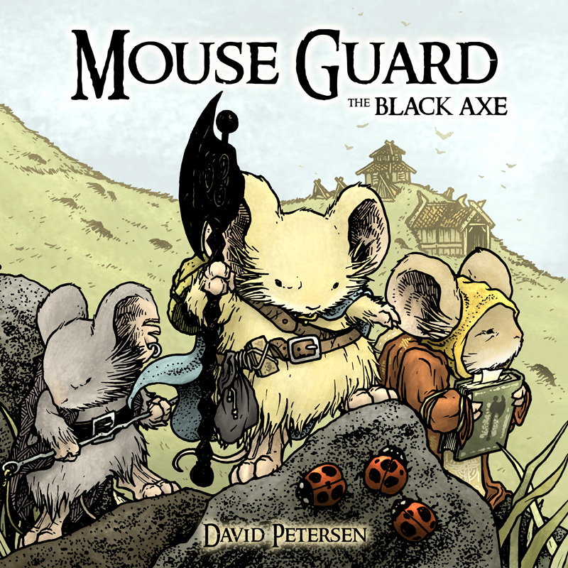 Mouse Guard: The Black Ax coloring #14, Download drawings