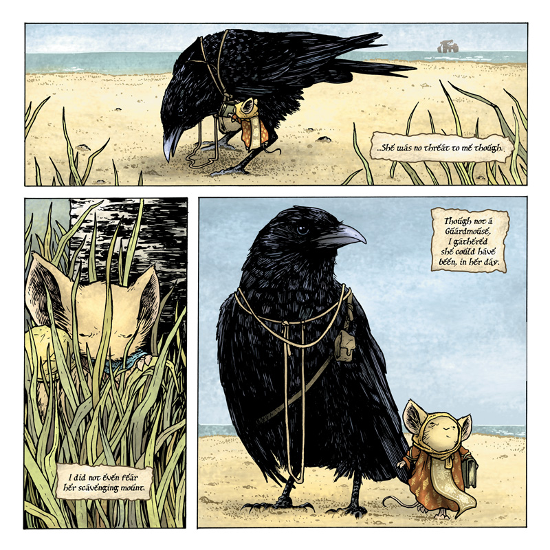 Mouse Guard: The Black Ax coloring #17, Download drawings