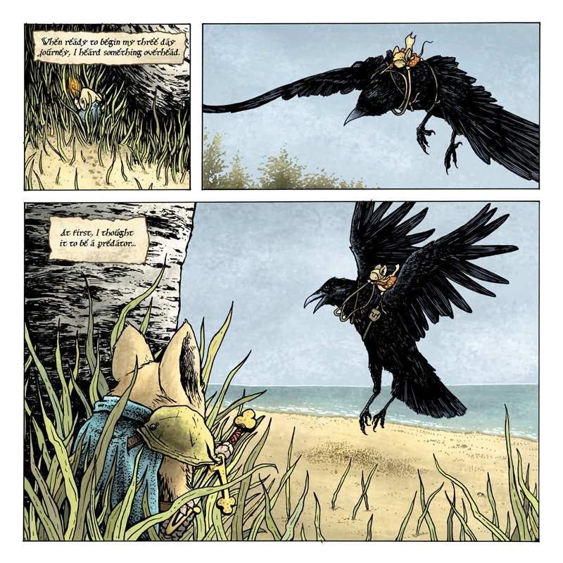 Mouse Guard: The Black Ax coloring #4, Download drawings