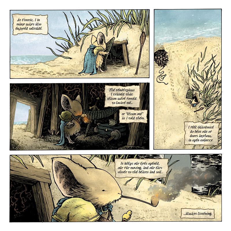 Mouse Guard: The Black Ax coloring #5, Download drawings