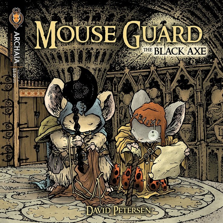 Mouse Guard: The Black Ax coloring #20, Download drawings