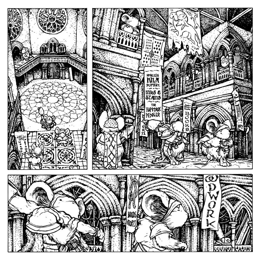 Mouse Guard: The Black Ax coloring #19, Download drawings