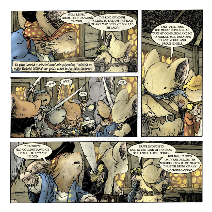 Mouse Guard: The Black Ax coloring #10, Download drawings