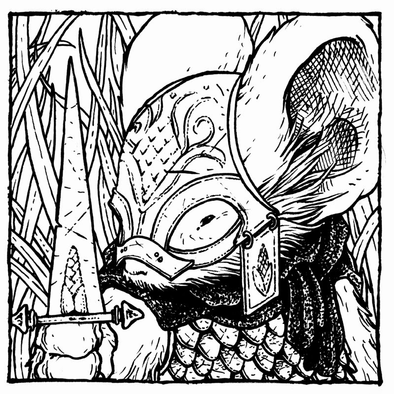 Mouse Guard: The Black Ax coloring #15, Download drawings