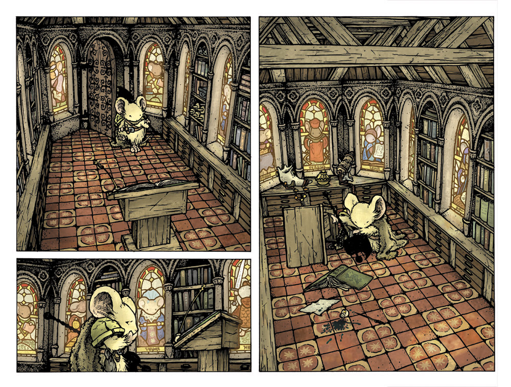 Mouse Guard: The Black Ax coloring #3, Download drawings