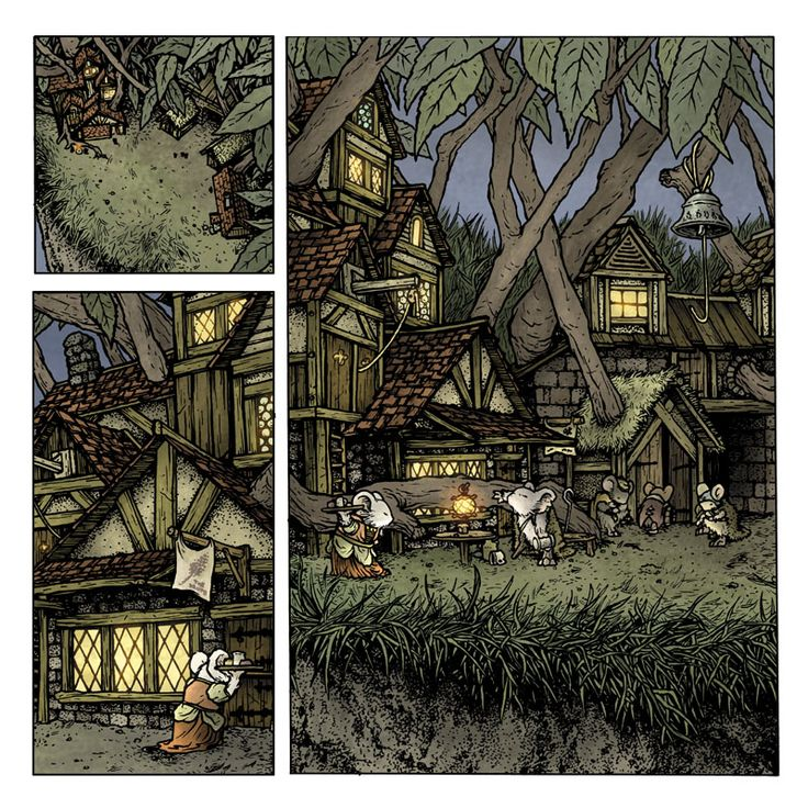 Mouse Guard: The Black Ax coloring #1, Download drawings