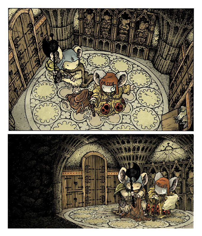 Mouse Guard: The Black Ax coloring #9, Download drawings
