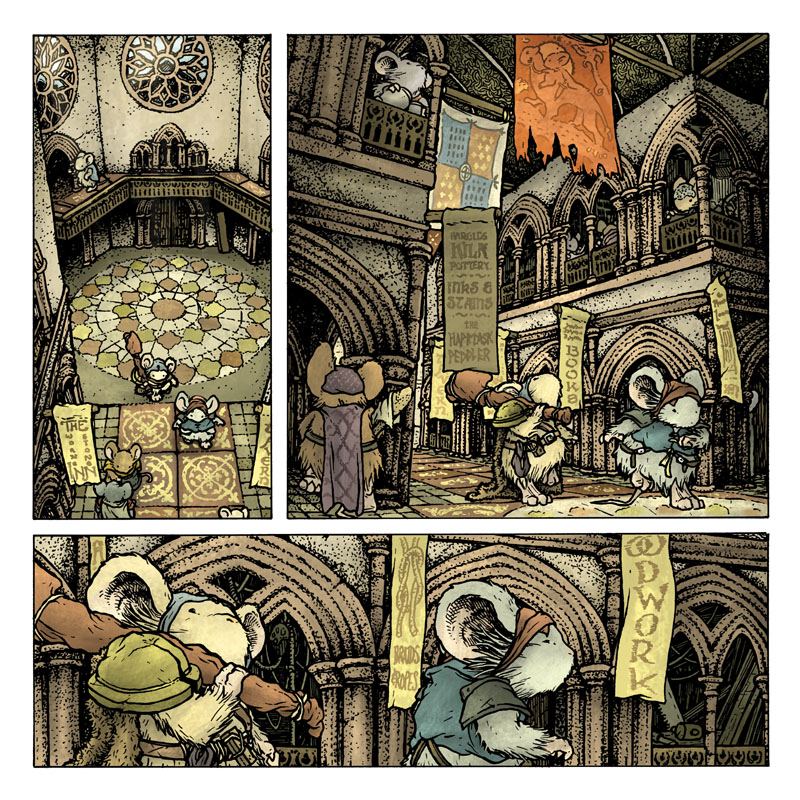 Mouse Guard: The Black Ax coloring #7, Download drawings