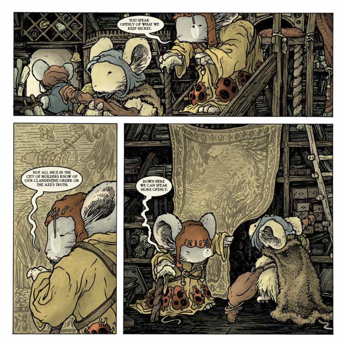 Mouse Guard: The Black Ax coloring #2, Download drawings