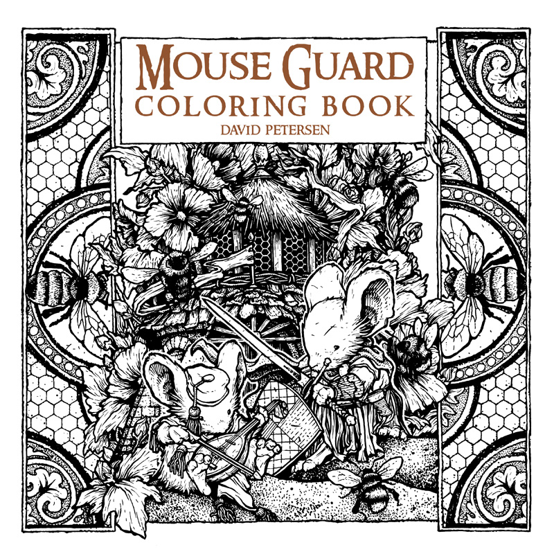 Mouse Guard: The Black Ax coloring #12, Download drawings