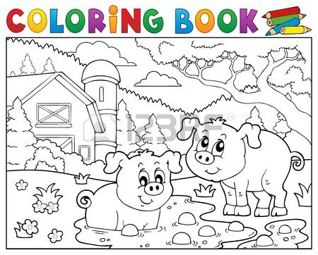 Muddy Field coloring #3, Download drawings