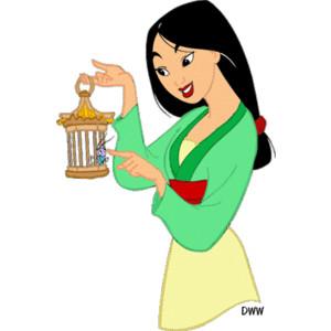 Mulan clipart #10, Download drawings