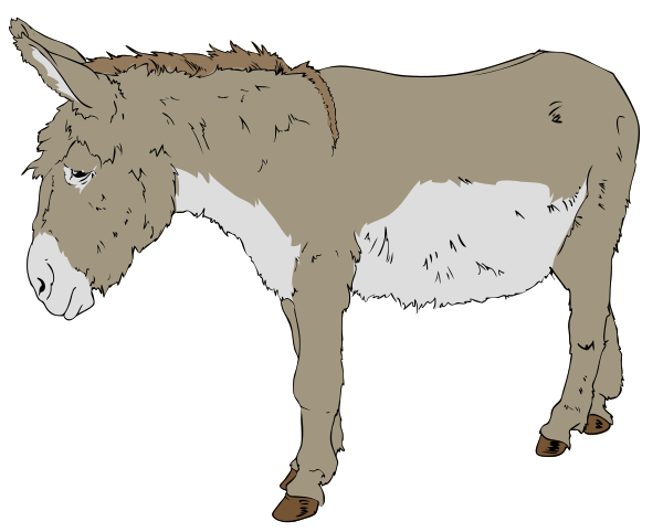 Mule clipart #12, Download drawings