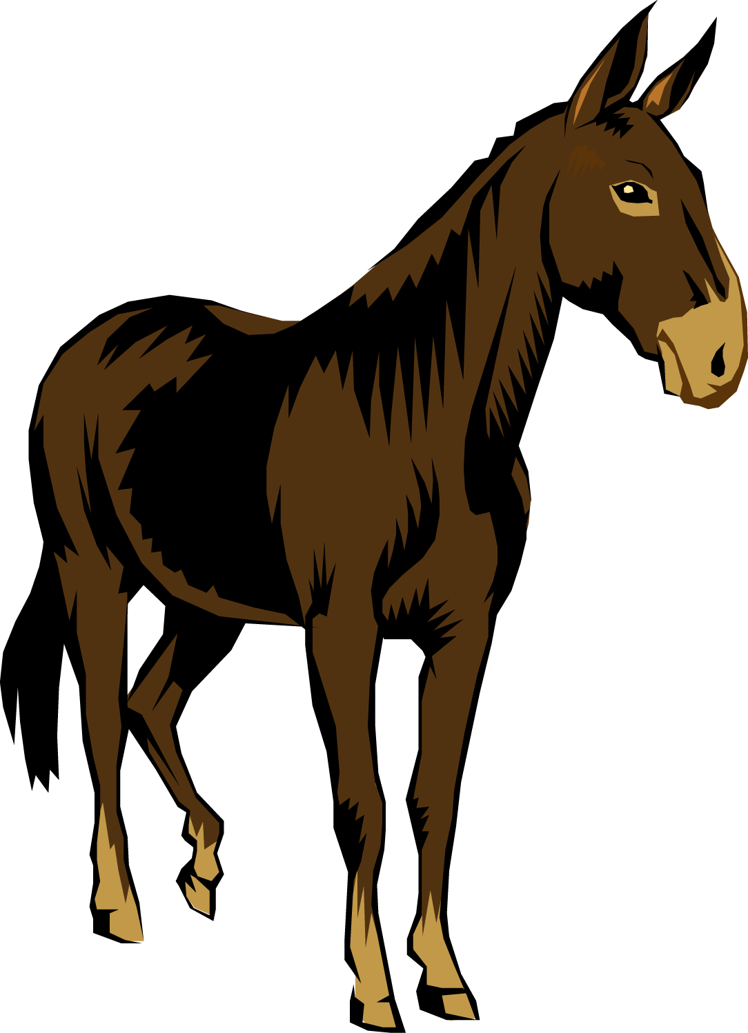 Mule clipart #13, Download drawings