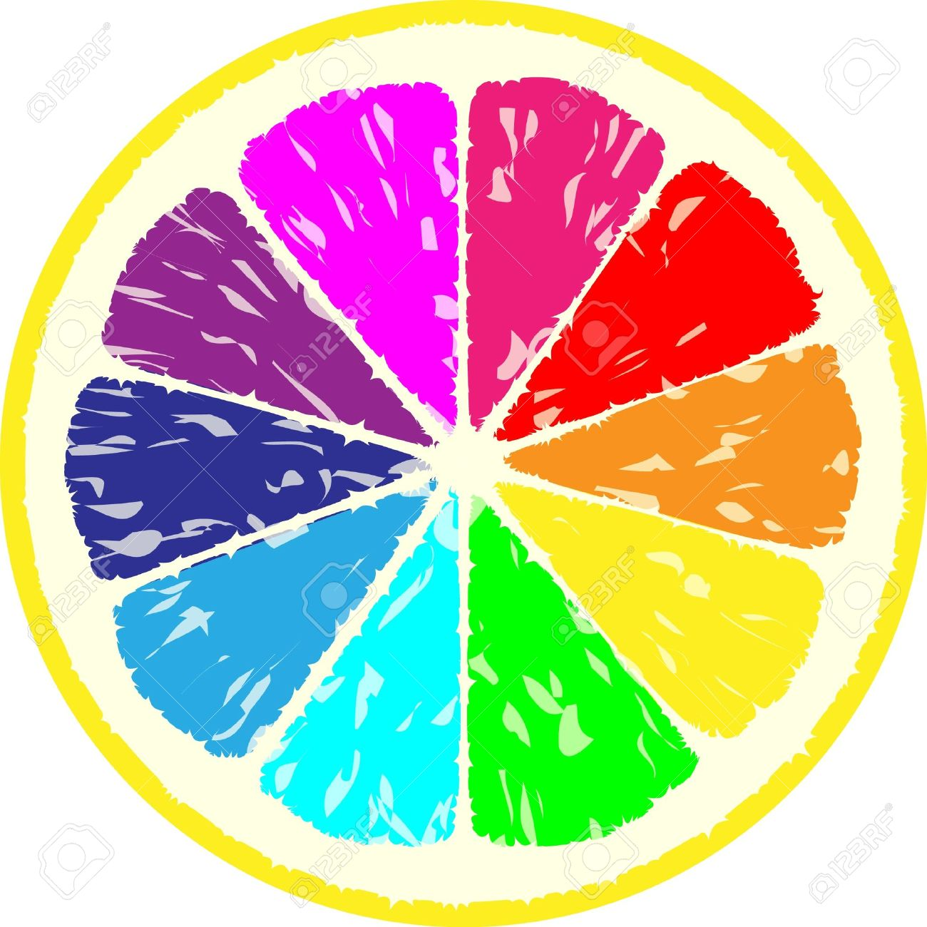 Multicoloured clipart #17, Download drawings