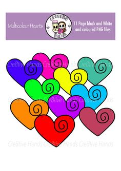 Multicoloured clipart #7, Download drawings