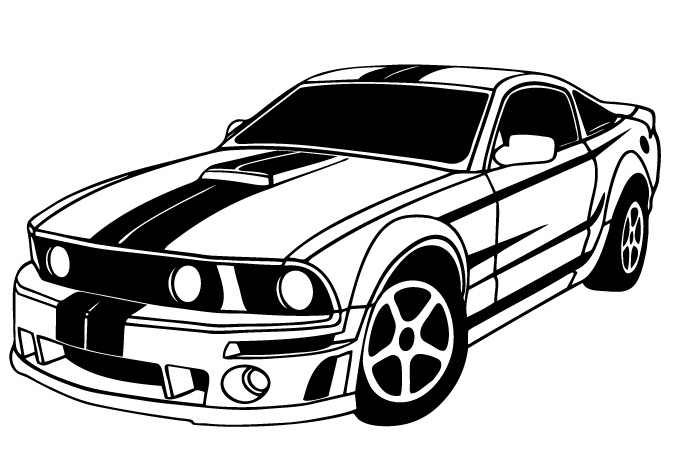 Muscle Car clipart #3, Download drawings