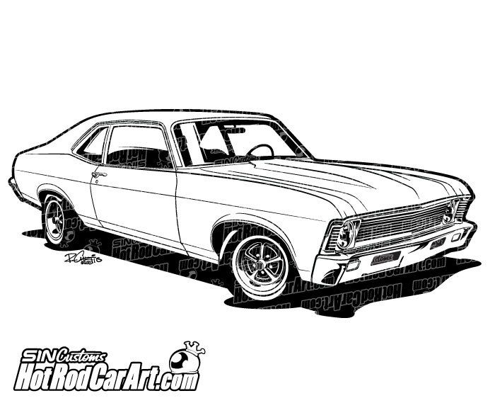 Muscle Car clipart #8, Download drawings
