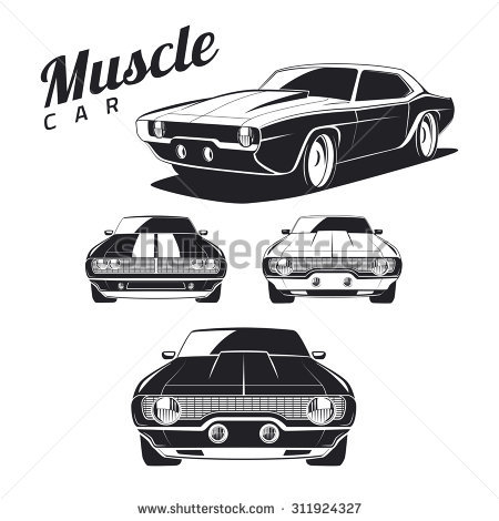Muscle Car svg #10, Download drawings