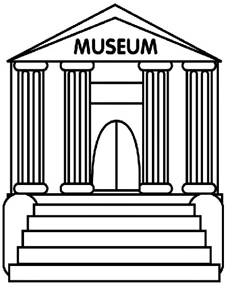 Museum clipart #3, Download drawings