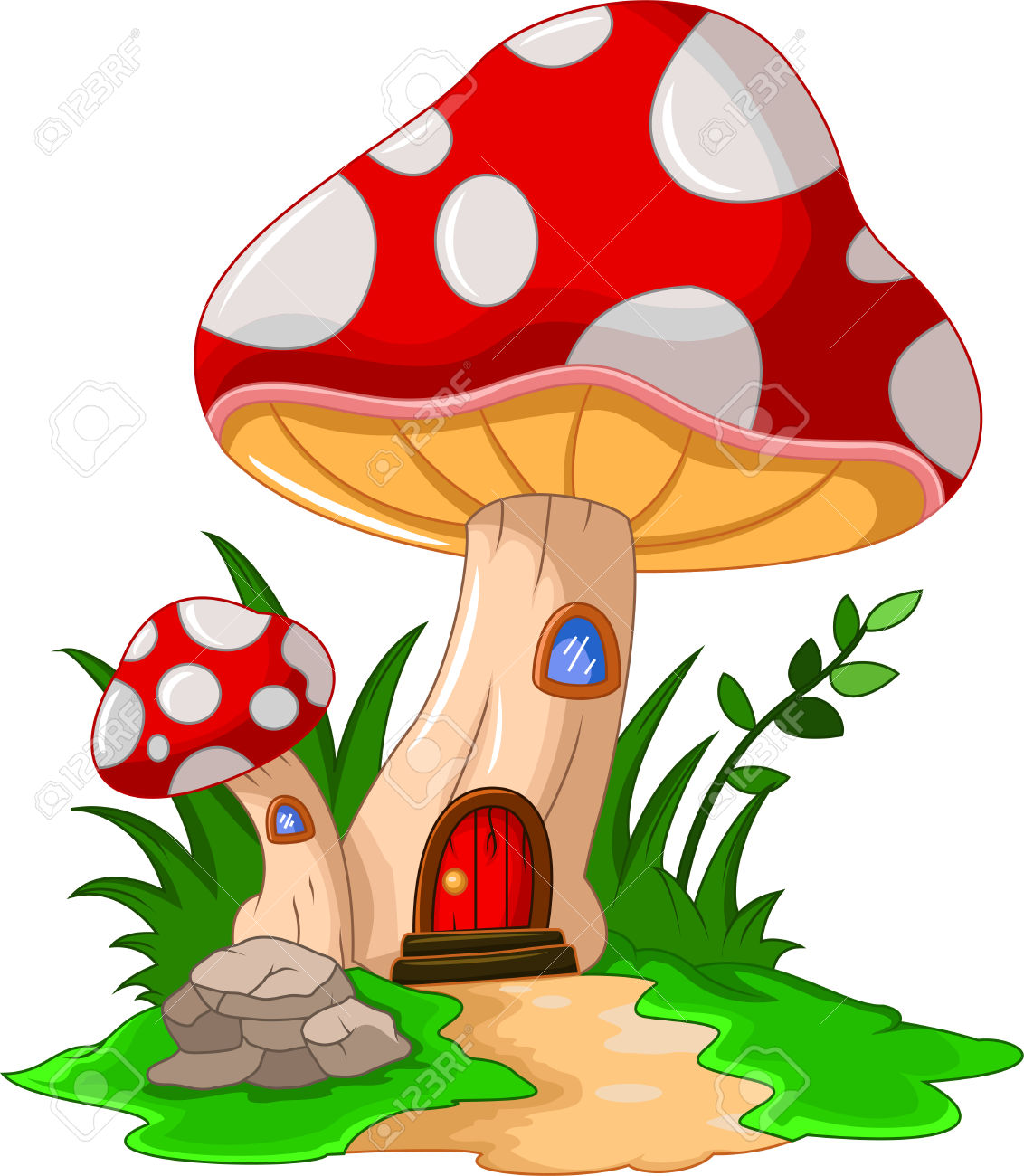 Mushroom clipart #1, Download drawings