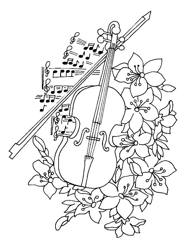 Music coloring #12, Download drawings