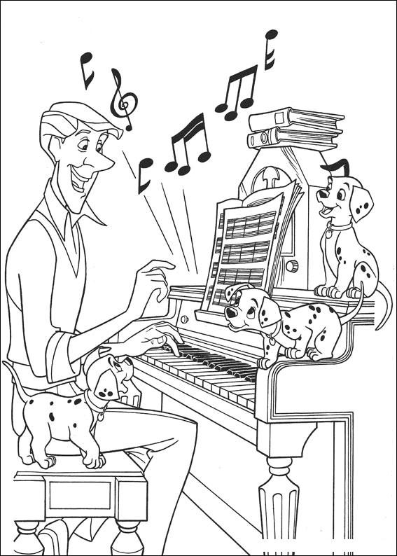 Musician coloring #13, Download drawings