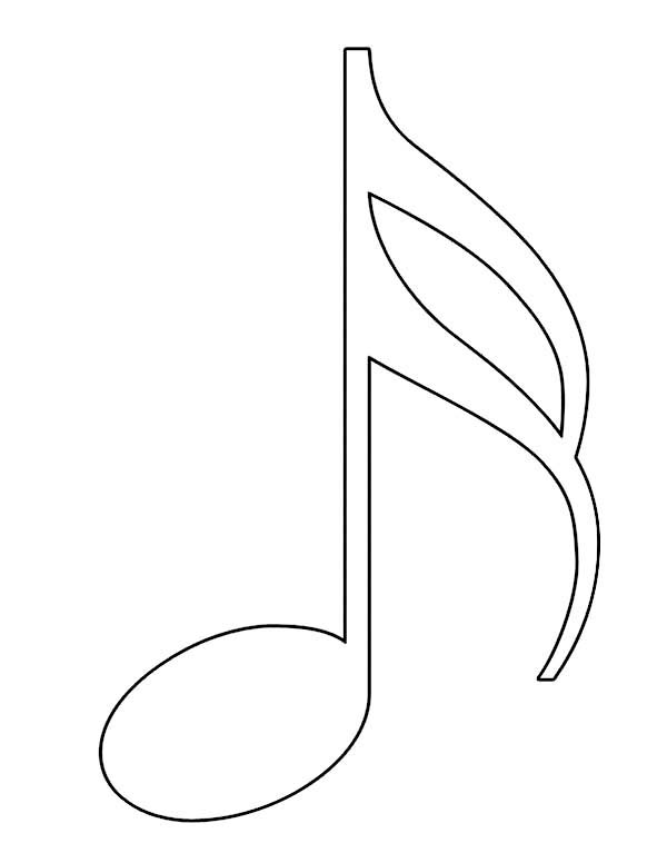Music Notes coloring #8, Download drawings