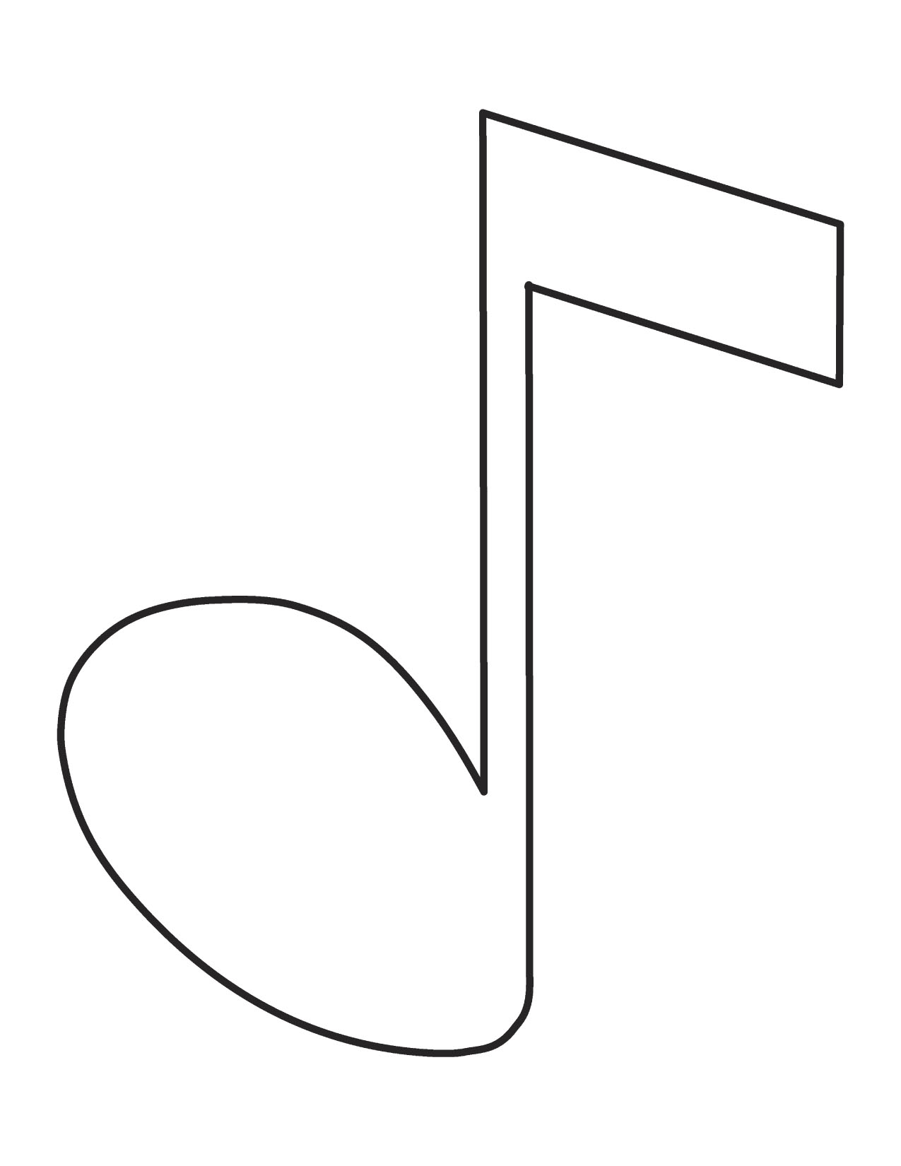 Music Notes coloring #11, Download drawings