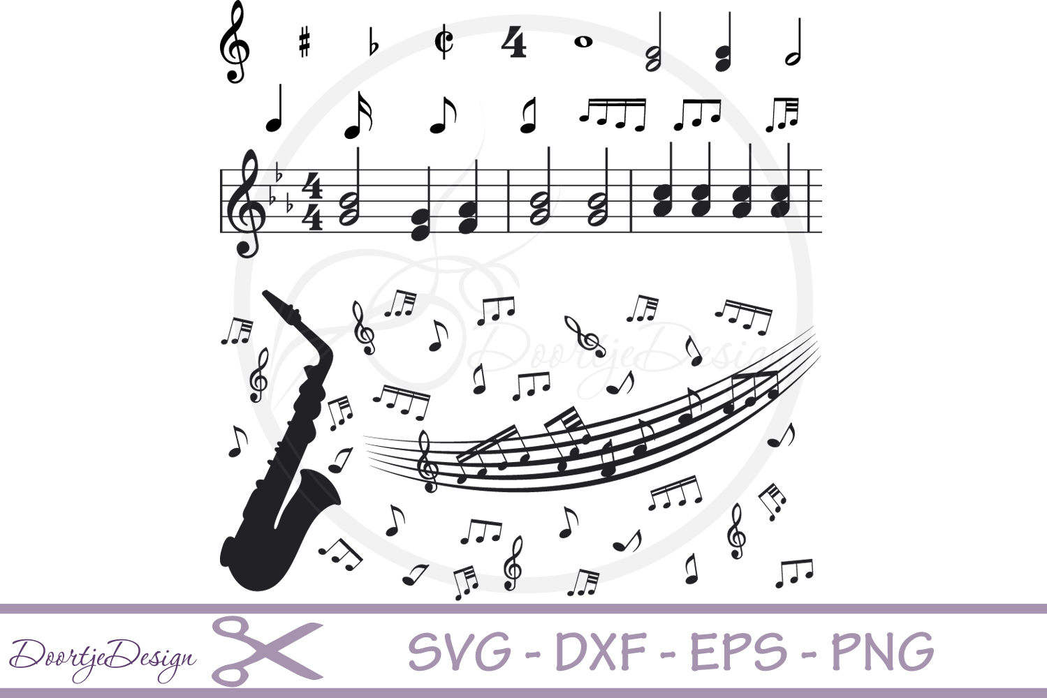 Music Notes svg #10, Download drawings