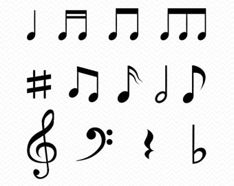 Music Notes svg #8, Download drawings