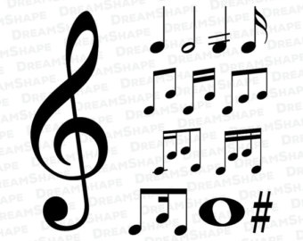 Music Notes svg #14, Download drawings
