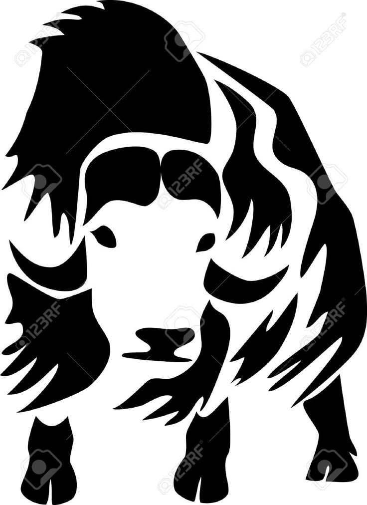 Muskox clipart #3, Download drawings