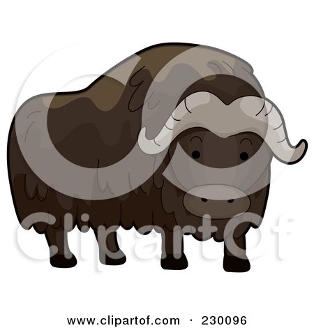 Muskox clipart #1, Download drawings