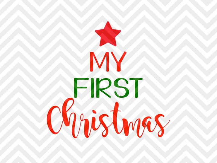 my first christmas svg #1037, Download drawings