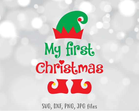 my first christmas svg #1031, Download drawings