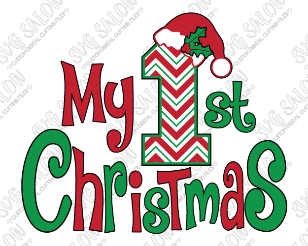 my first christmas svg #1025, Download drawings
