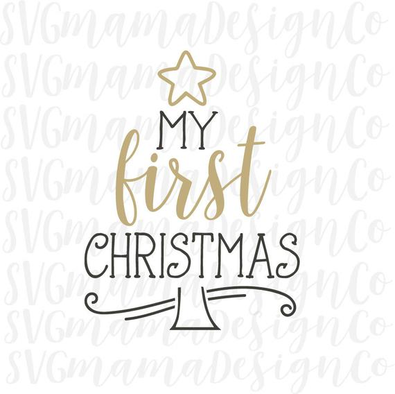 my first christmas svg #1017, Download drawings
