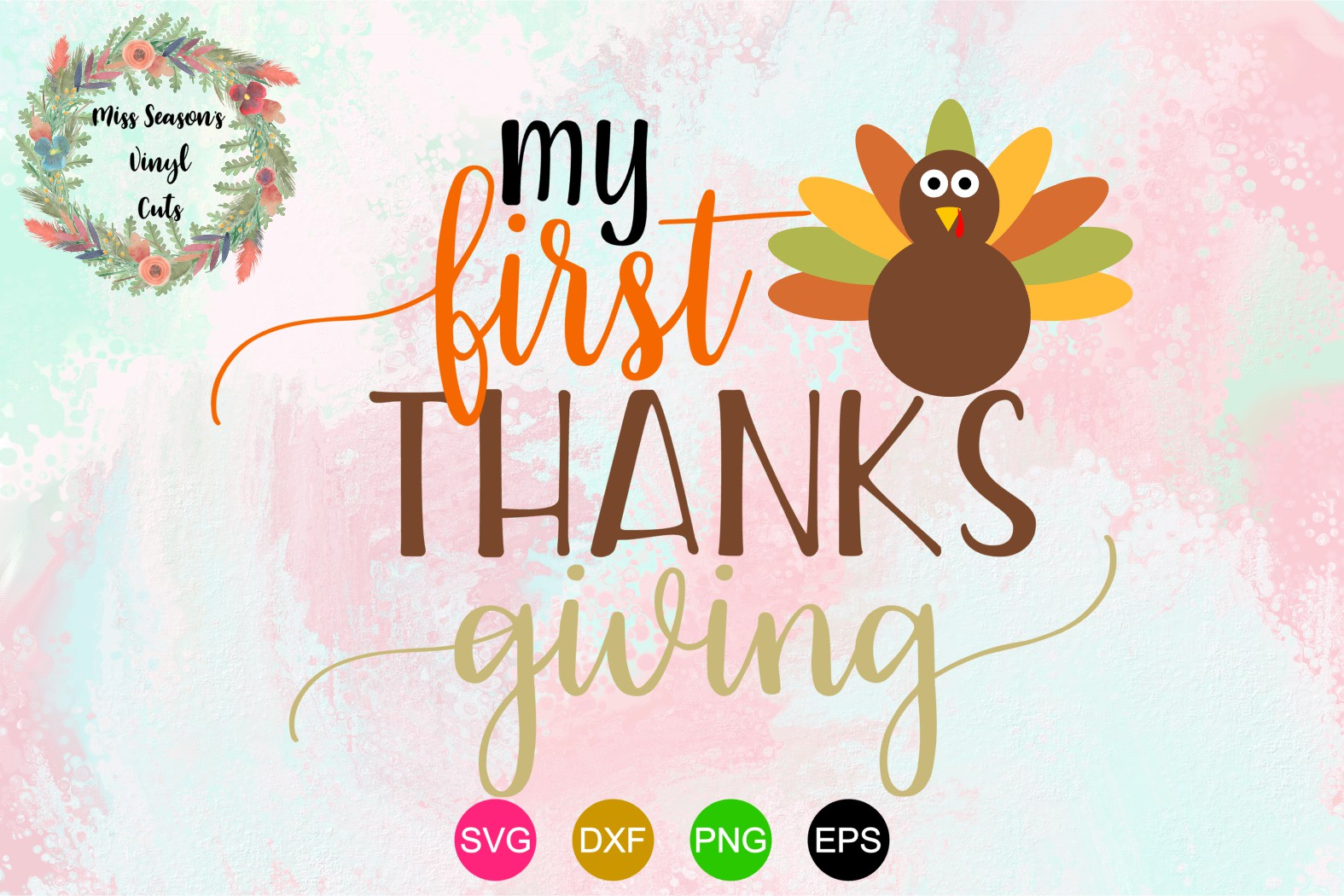 my first thanksgiving svg #790, Download drawings