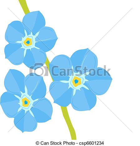 Myosotis clipart #15, Download drawings