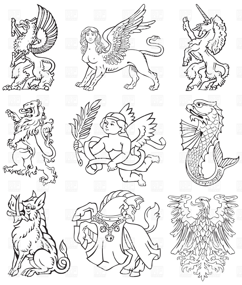Mystical clipart #4, Download drawings