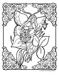 coloring pages of mystical angels - photo#30