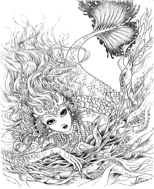 free mystical coloring pages - photo#1