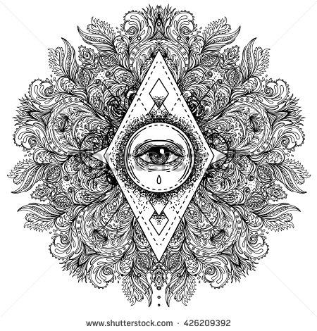 Mystism coloring #18, Download drawings