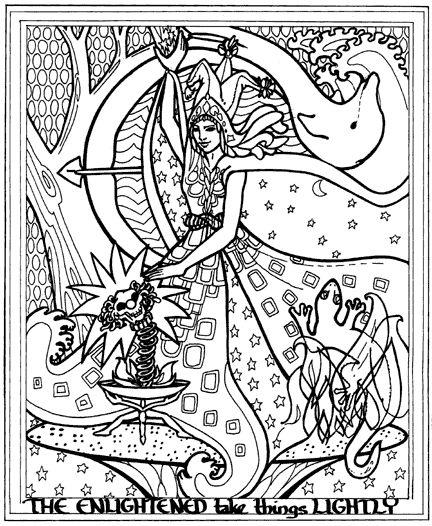 Mystism coloring #2, Download drawings