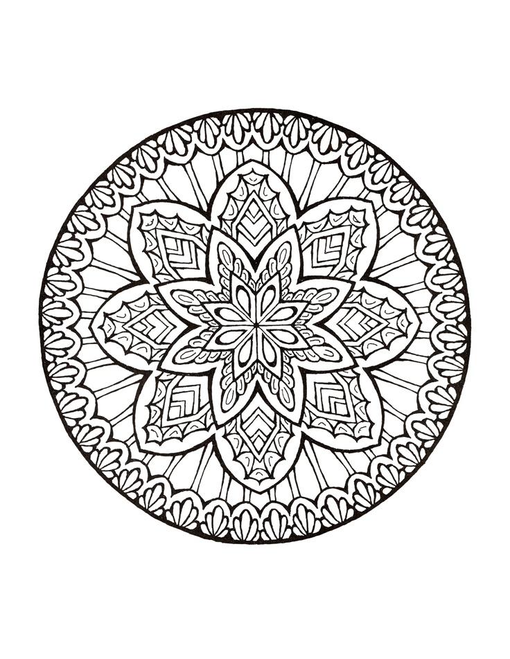 Mystism coloring #5, Download drawings