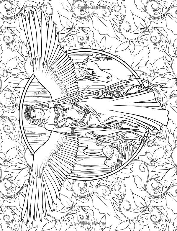 Mystism coloring #4, Download drawings